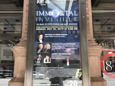 Carnegie Hall sign